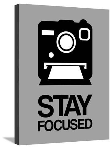 Stay Focused Polaroid Camera 1-NaxArt-Stretched Canvas Print