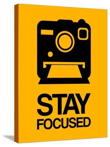 Stay Focused Polaroid Camera 2-NaxArt-Stretched Canvas Print