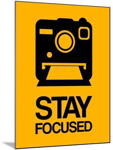 Stay Focused Polaroid Camera 2-NaxArt-Mounted Art Print