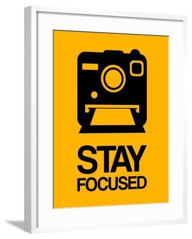 Stay Focused Polaroid Camera 2-NaxArt-Framed Art Print