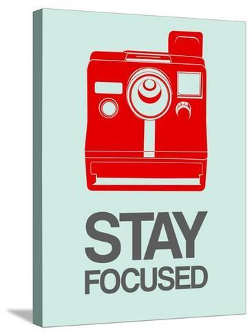 Stay Focused Polaroid Camera 4-NaxArt-Stretched Canvas Print