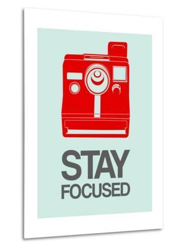Stay Focused Polaroid Camera 4-NaxArt-Metal Print