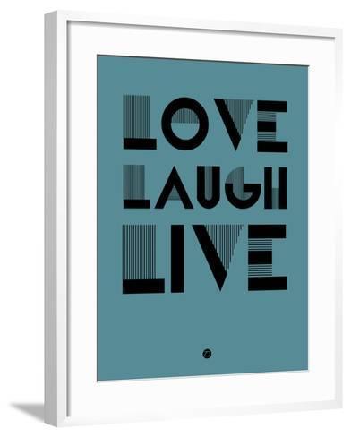 Love Laugh Live 4-NaxArt-Framed Art Print