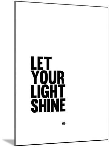 Let Your Lite Shine 1-NaxArt-Mounted Art Print