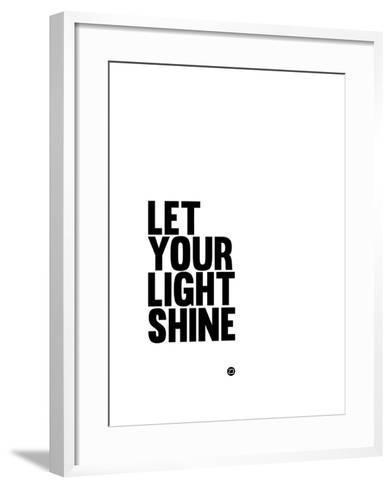 Let Your Lite Shine 1-NaxArt-Framed Art Print