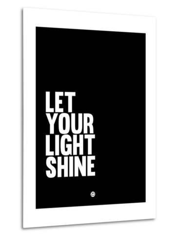 Let Your Lite Shine 2-NaxArt-Metal Print