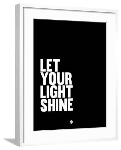 Let Your Lite Shine 2-NaxArt-Framed Art Print