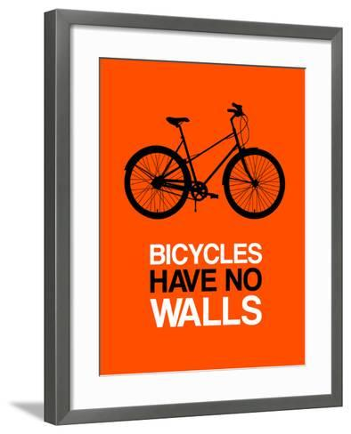 Bicycles Have No Walls 1-NaxArt-Framed Art Print