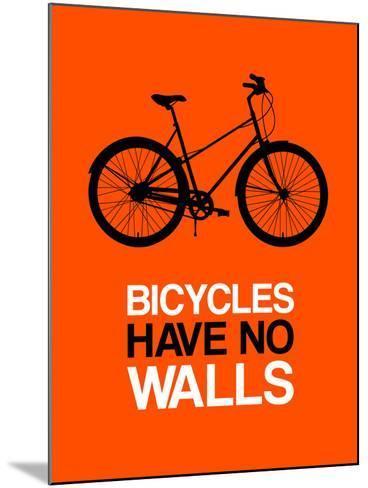 Bicycles Have No Walls 1-NaxArt-Mounted Art Print