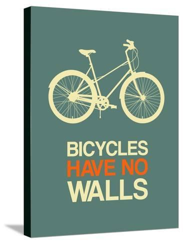 Bicycles Have No Walls 3-NaxArt-Stretched Canvas Print