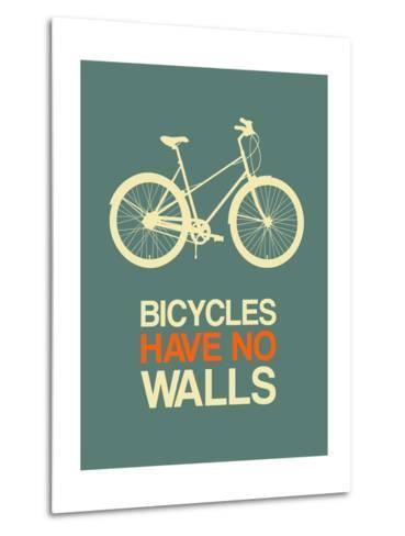 Bicycles Have No Walls 3-NaxArt-Metal Print
