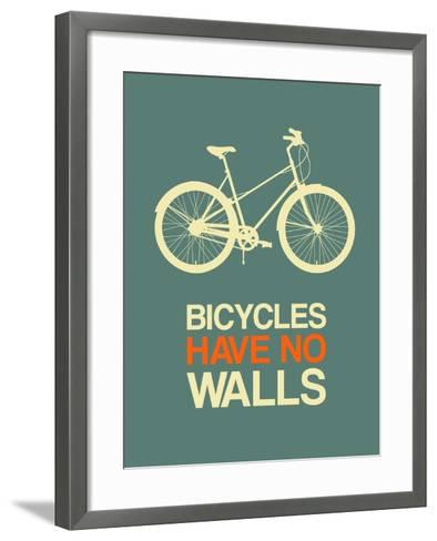 Bicycles Have No Walls 3-NaxArt-Framed Art Print