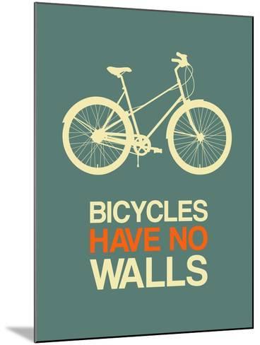 Bicycles Have No Walls 3-NaxArt-Mounted Art Print