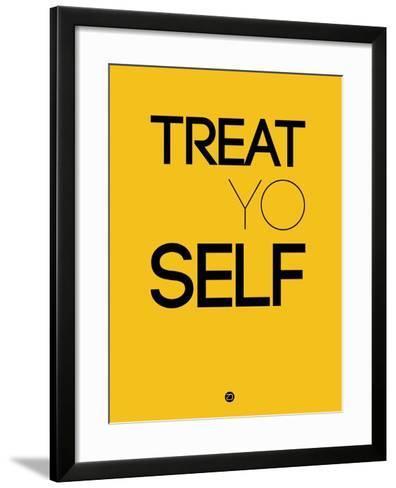 Treat Yo Self 2-NaxArt-Framed Art Print