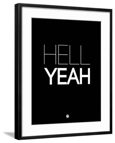 Hell Yeah 1-NaxArt-Framed Art Print