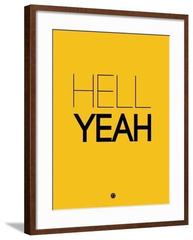 Hell Yeah 2-NaxArt-Framed Art Print