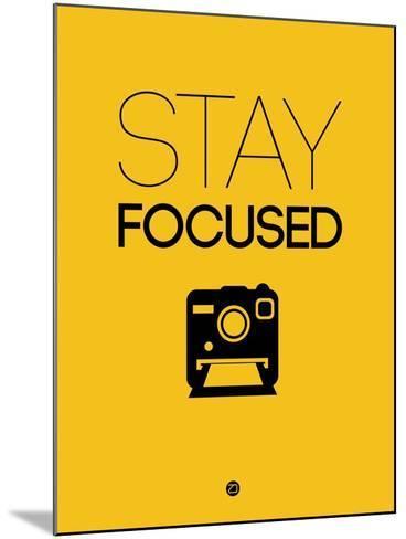 Stay Focused 2-NaxArt-Mounted Art Print