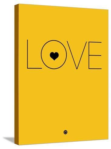 Love Yellow-NaxArt-Stretched Canvas Print