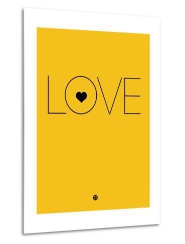 Love Yellow-NaxArt-Metal Print
