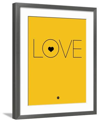Love Yellow-NaxArt-Framed Art Print