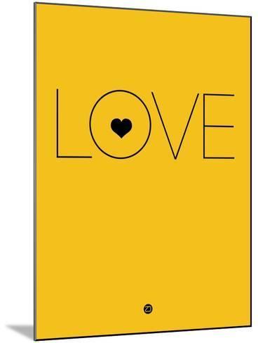 Love Yellow-NaxArt-Mounted Art Print