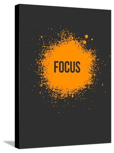 Focus Splatter 3-NaxArt-Stretched Canvas Print