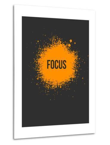 Focus Splatter 3-NaxArt-Metal Print