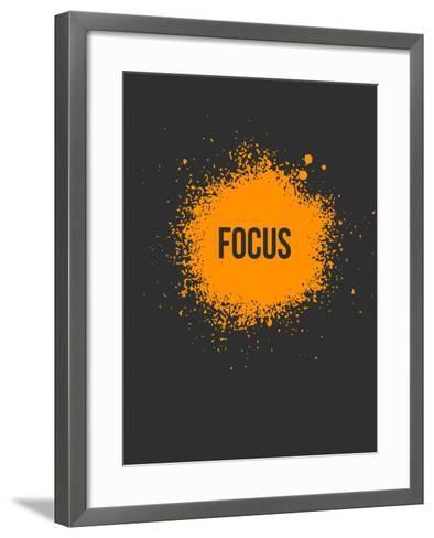 Focus Splatter 3-NaxArt-Framed Art Print
