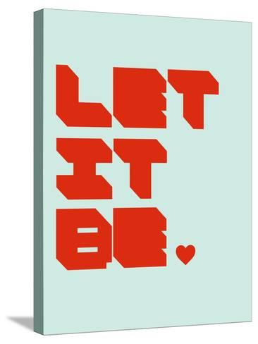 Let it Be 1-NaxArt-Stretched Canvas Print