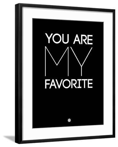 You are My Favorite Black-NaxArt-Framed Art Print