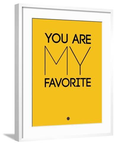 You are My Favorite Yellow-NaxArt-Framed Art Print