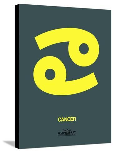 Cancer Zodiac Sign Yellow-NaxArt-Stretched Canvas Print