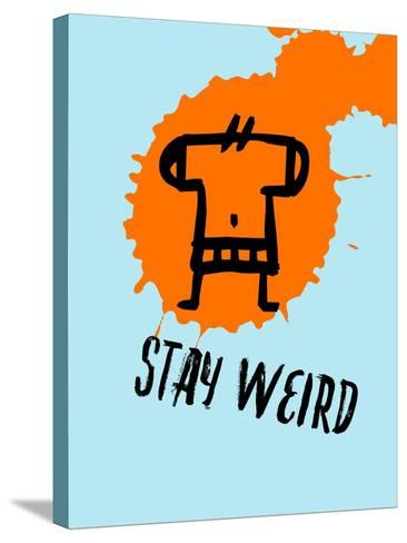 Stay Weird 1-Lina Lu-Stretched Canvas Print