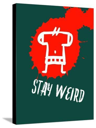 Stay Weird 2-Lina Lu-Stretched Canvas Print