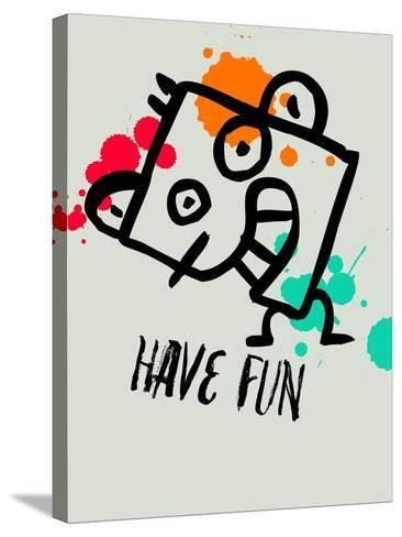 Have Fun 1-Lina Lu-Stretched Canvas Print