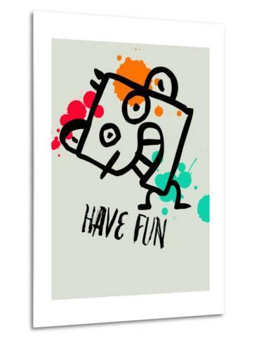 Have Fun 1-Lina Lu-Metal Print