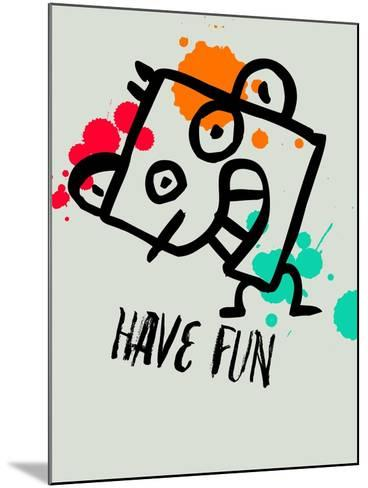 Have Fun 1-Lina Lu-Mounted Art Print
