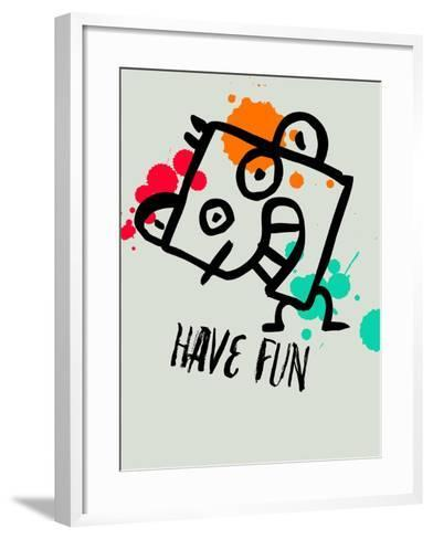 Have Fun 1-Lina Lu-Framed Art Print