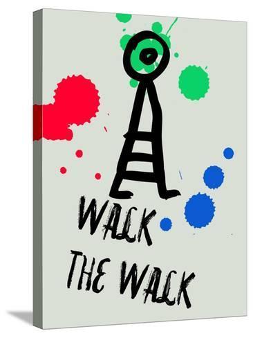 Walk the Walk 1-Lina Lu-Stretched Canvas Print