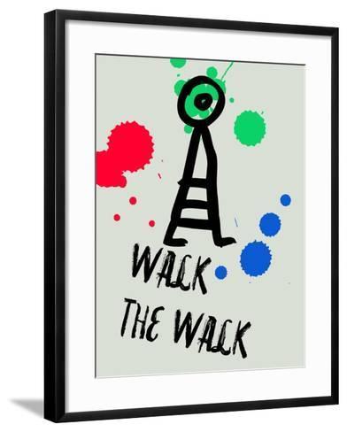 Walk the Walk 1-Lina Lu-Framed Art Print