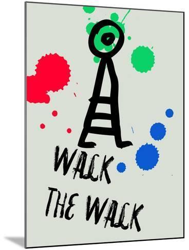 Walk the Walk 1-Lina Lu-Mounted Art Print