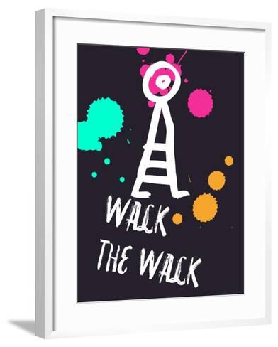 Walk the Walk 2-Lina Lu-Framed Art Print