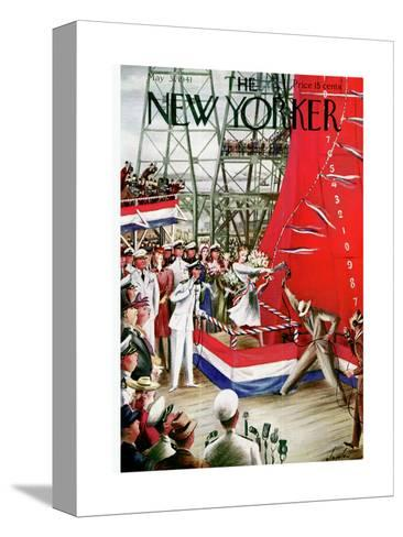 The New Yorker Cover - May 31, 1941-Constantin Alajalov-Stretched Canvas Print