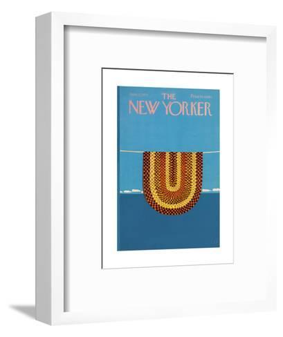 The New Yorker Cover - June 12, 1971-Charles E. Martin-Framed Art Print