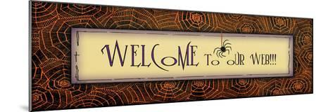 Welcome to Our Web-Jo Moulton-Mounted Art Print