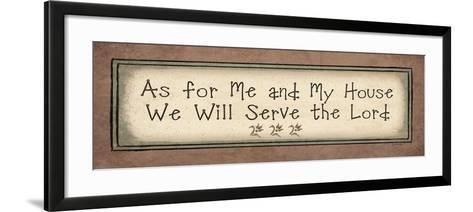 Serve the Lord-Jo Moulton-Framed Art Print