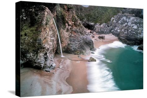Waterfall-Dennis Frates-Stretched Canvas Print