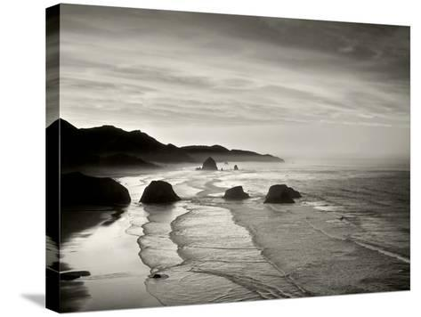 Cannon Beach-Dennis Frates-Stretched Canvas Print