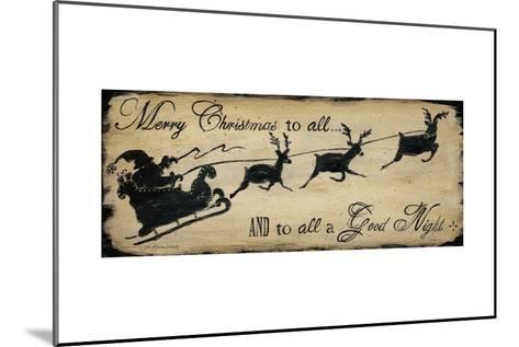Merry Christmas to All-Jo Moulton-Mounted Art Print