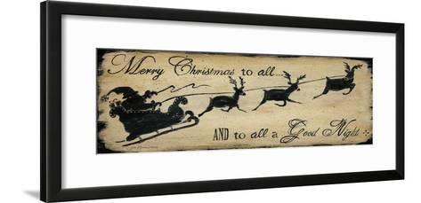 Merry Christmas to All-Jo Moulton-Framed Art Print